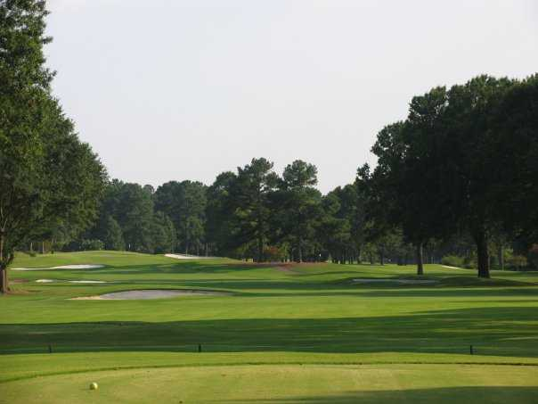 A view from tee #9 at Germantown Country Club