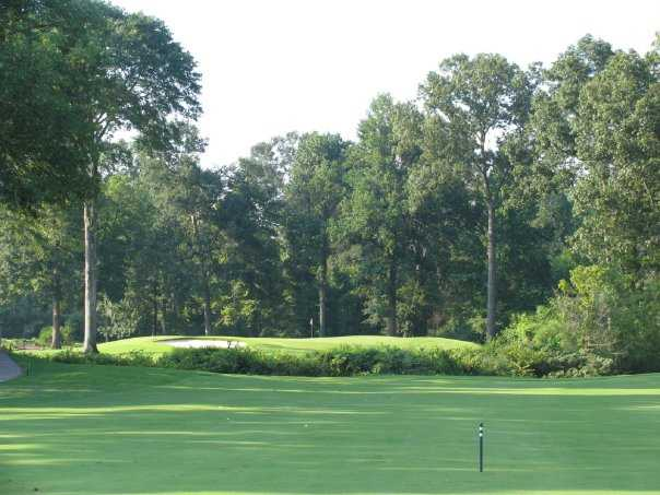 A view from fairway #6 at Germantown Country Club