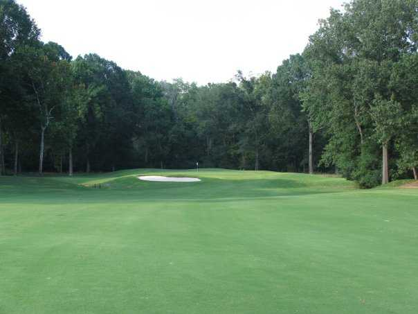 A view from the 4th fairway at Germantown Country Club