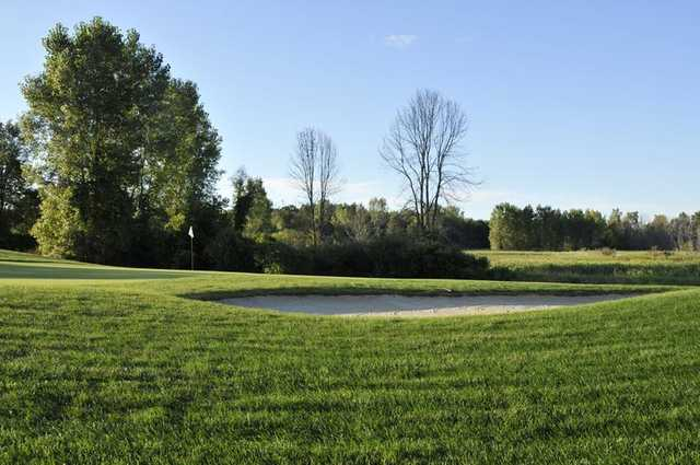 A view of green at Huntmore Golf Club