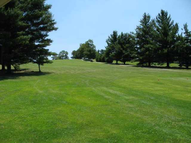 A view of the 2nd fairway from The Hill at Blacksburg Municipal Golf Course.