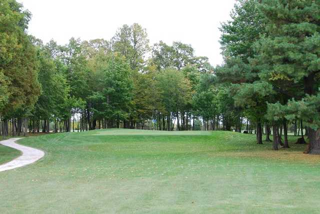 A fall view from Wander Springs Golf Course