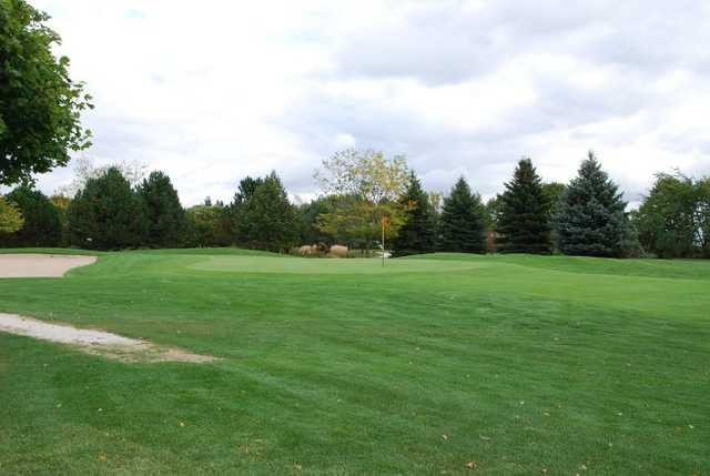 A view of a hole at Wander Springs Golf Course