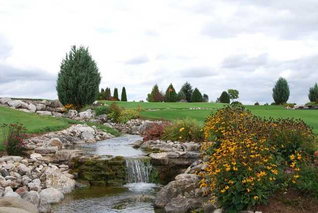 A view from Wander Springs Golf Course
