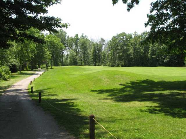A sunny view from Sugarbush Golf Club