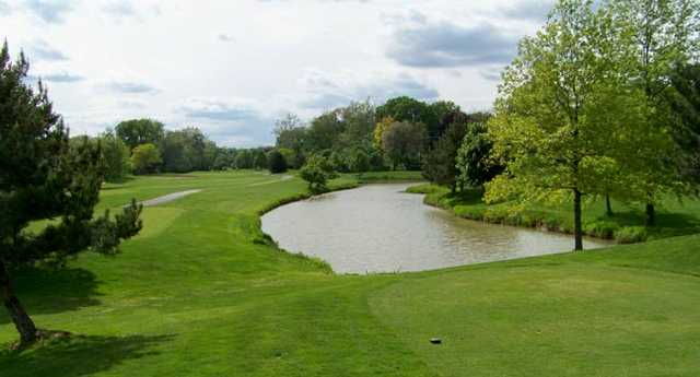 A view from Dearborn Hills Golf Course