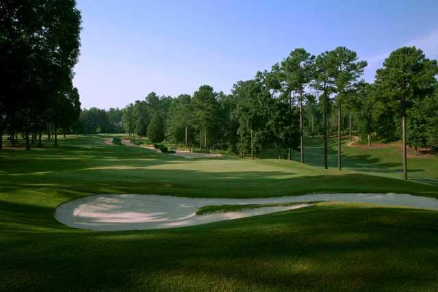 A view of a green at Cobblestone Park Golf Club