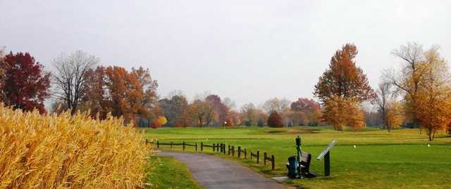 A view of tee #16 at Chandler Park Golf Course
