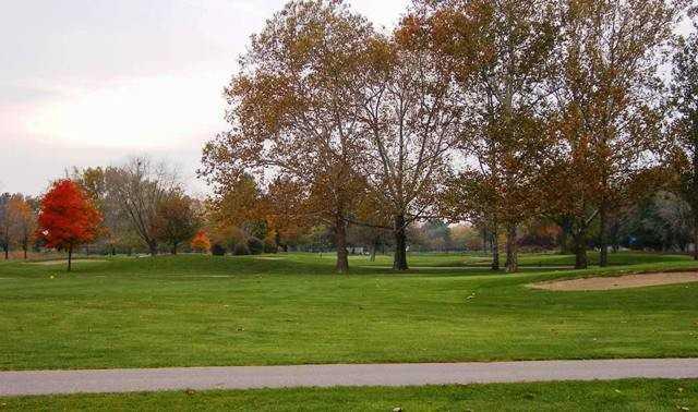 An autumn view from Palmer Park Golf Course