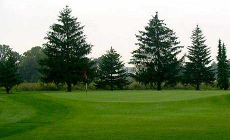 A view from Rouge Park Golf Course