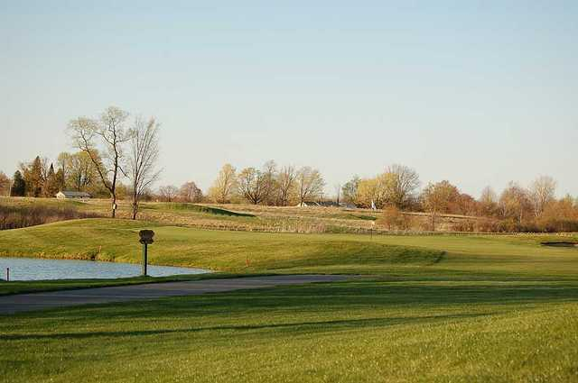 A view from Eagle Glen Golf Course