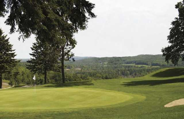A view of a green at Otsego Club.