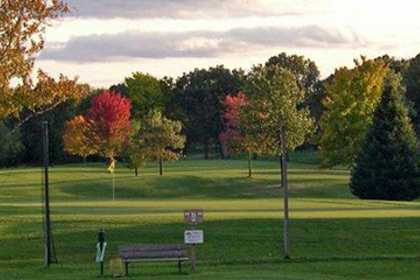 A fall view from Fairfield Hills Golf Course
