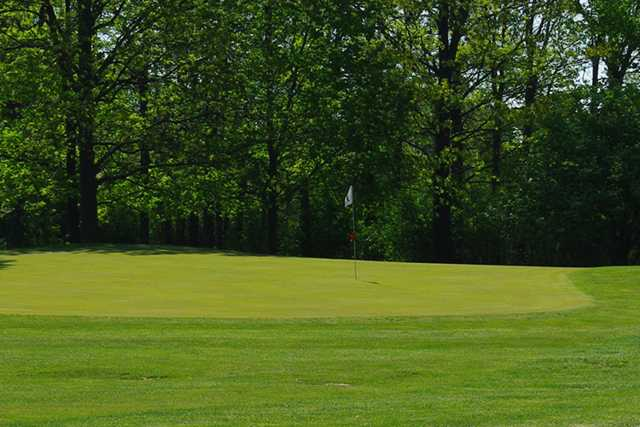 A view of a green at Brookside Golf Course