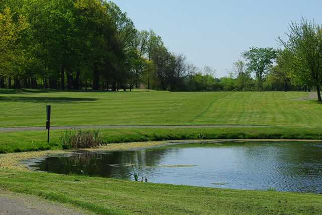A view of a fairway at Brookside Golf Course