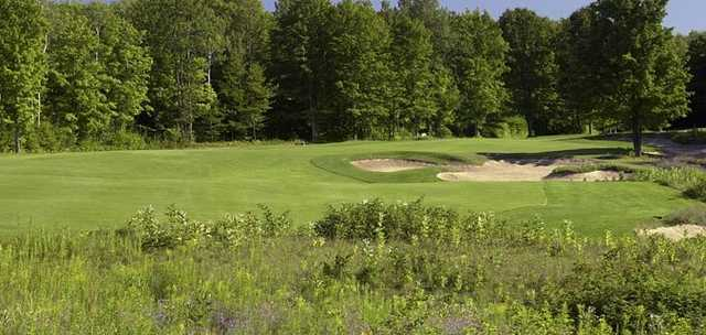 A view of a green at Wilderness Valley Golf Course