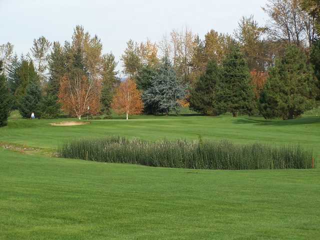 A fall view from Sah-Hah-Lee Golf Course