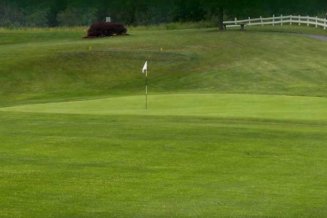 A view of a hole at Par Line Golf Course