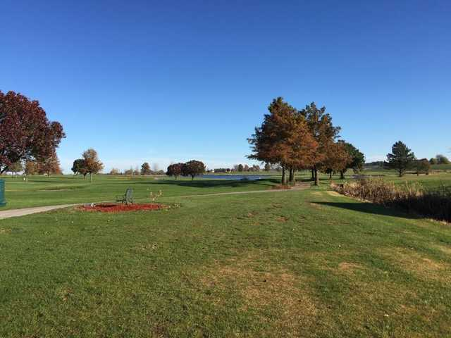 A fall view from Country Creek Golf Club
