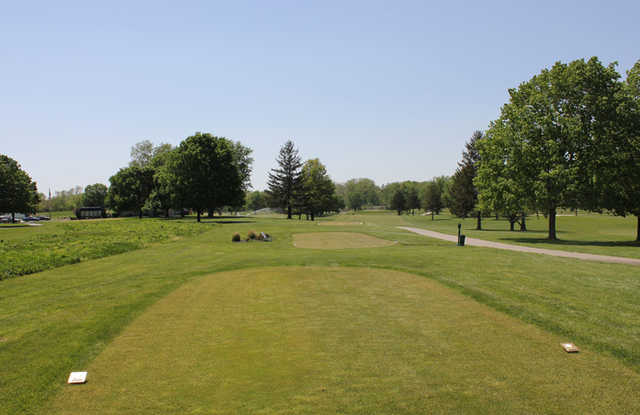 A view from tee #17 at Whispering Creek Golf Club