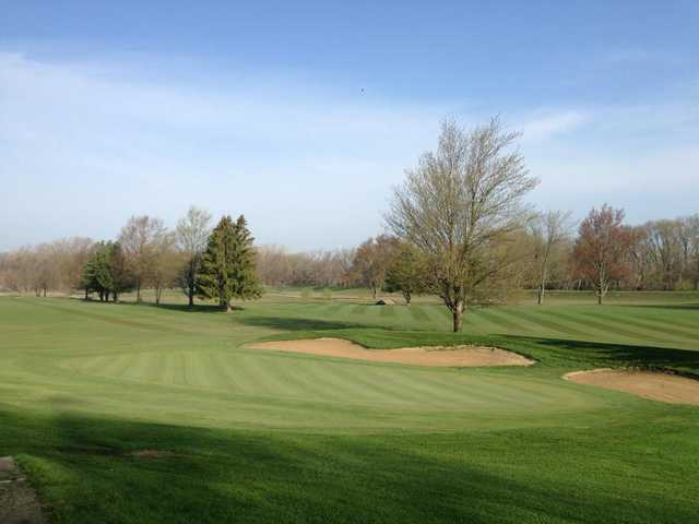 A view from Whispering Creek Golf Club