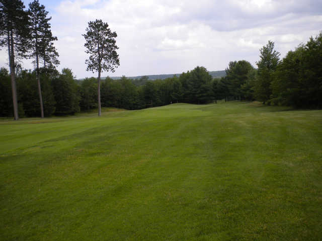 A view from a fairway at White Pine National Golf Club