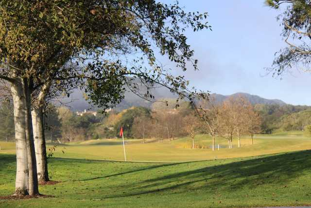 A view of a hole from River Course at Alisal