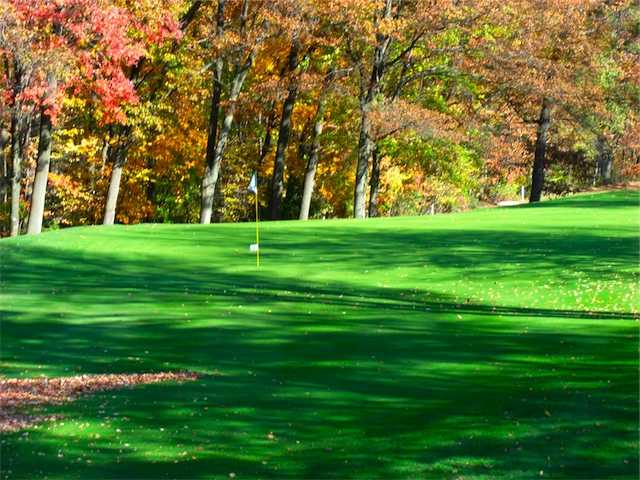 An autumn view from Dunham Hills Golf Club