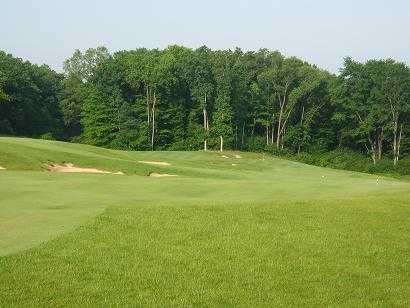 A view of the 13rd hole at Grande Golf Club