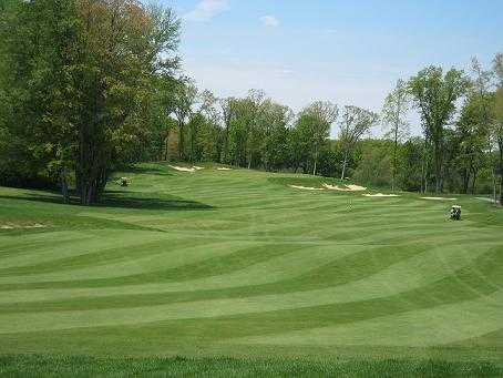 A view of green #16 at Grande Golf Club