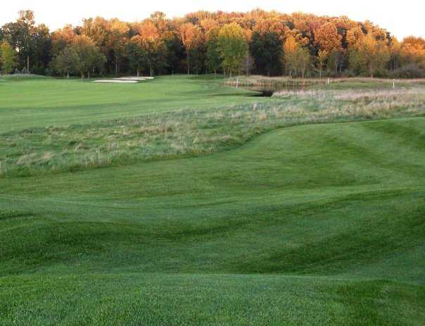 A view of green #12 at Pohlcat Golf Club