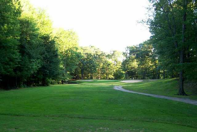A view of the 3rd hole at Chase Hammond Golf Course