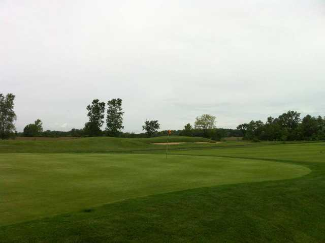 A view of the 9th hole at Coyote Golf Club