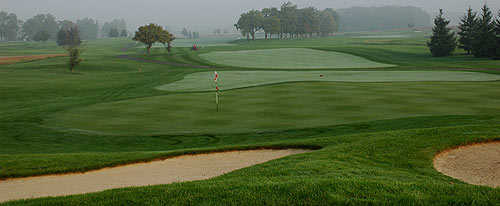 A view of green #12 at Coyote Golf Club