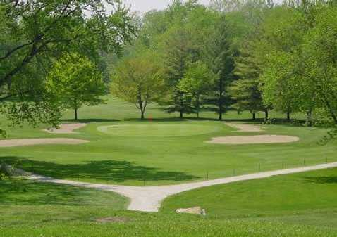 A view of hole #13 at Black River Country Club