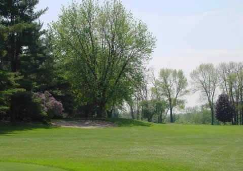 A view of the 9th hole at Black River Country Club