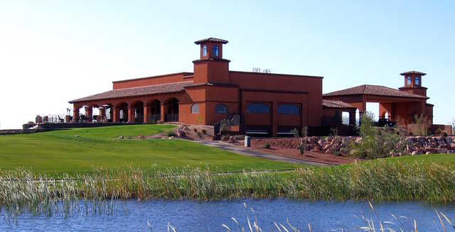 View of the clubhouse at El Rio Golf Club
