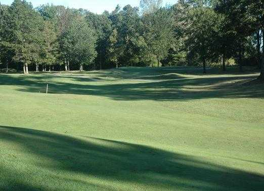 A sunny view from Rattle Run Golf Course