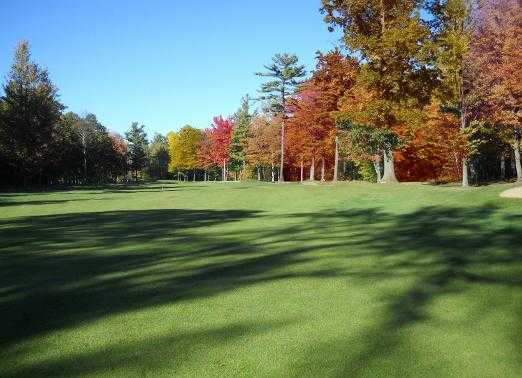 An autumn view from Rattle Run Golf Course