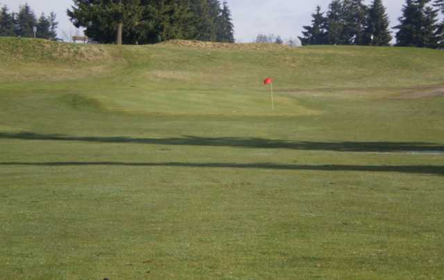 A view of a hole at Tahoma Valley Golf & Country Club