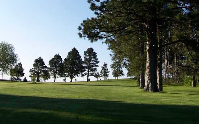 A view of a fairway at Belle Fourche Country Club