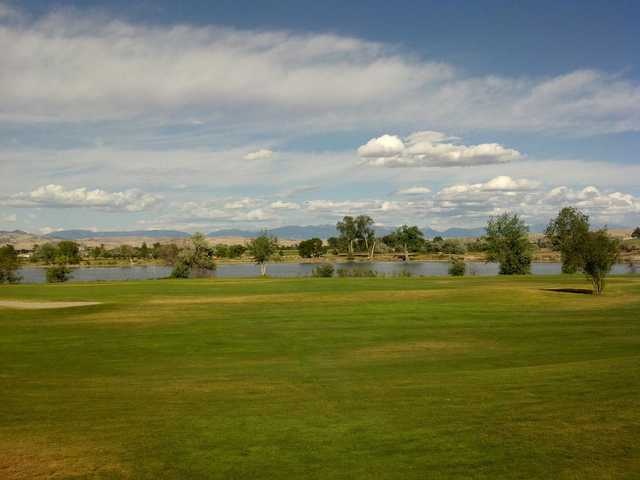 A view from Headwaters Golf Course