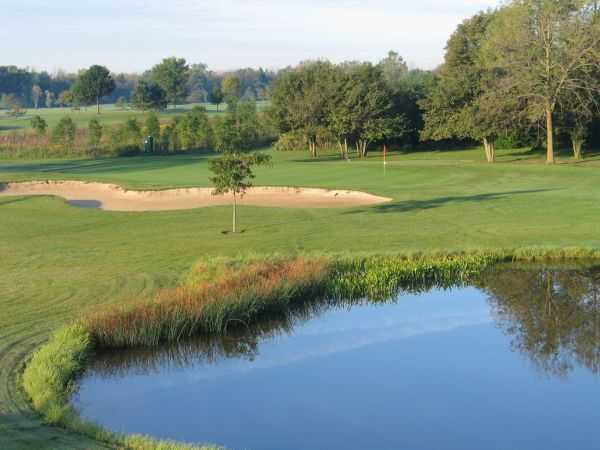A view over the water from Riverview Highlands Golf Course