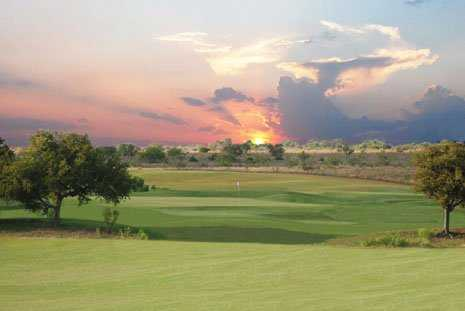 A view of a green from The Golf Club of Texas