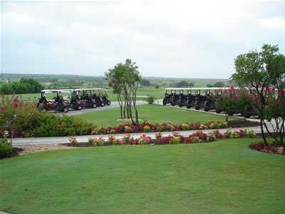 A view from The Golf Club of Texas