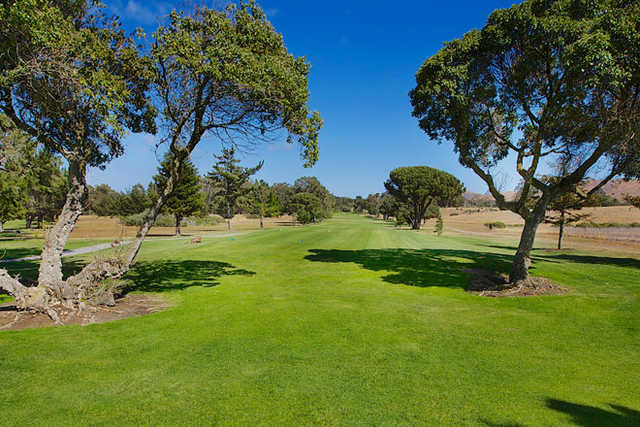 A view of a fairway at Rancho Maria Golf Club