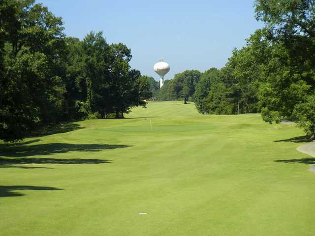 A view of a hole at Stonebridge Golf Course