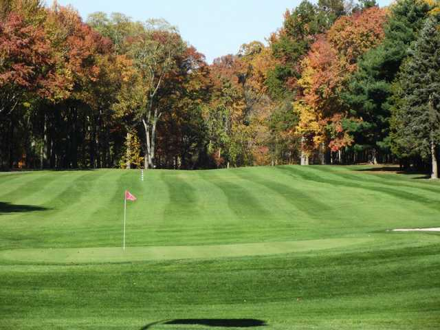 A view of a green at Princeton Country Club