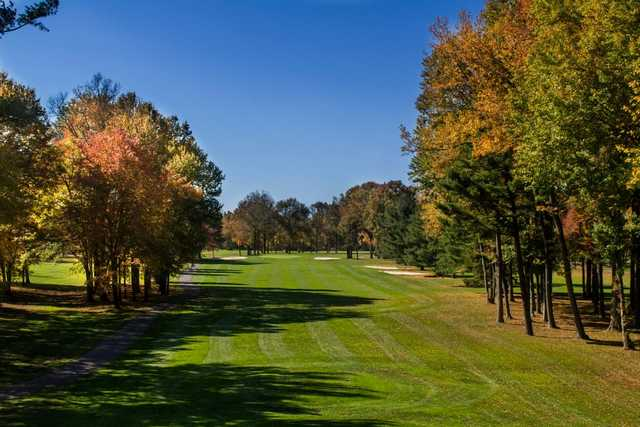 A view of a fairway at Princeton Country Club