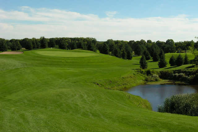 A view of a fairway at Bristol Ridge Golf Course